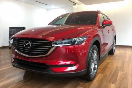 Mazda CX-8 Luxury 2019 - Đỏ